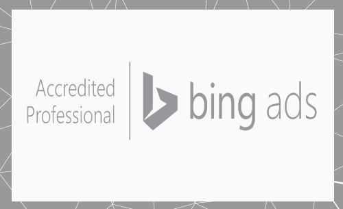 Bing Ads Accreditted Professional Badge